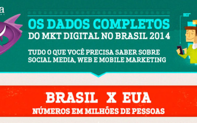 Infográfico – Marketing Digital no Brasil